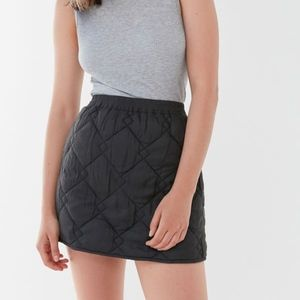 Urban Outfitter's Ridley Quilted Mini Skirt
